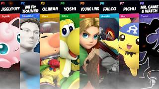 8 Player Free-For-All | Super Smash Bros. Ultimate Gameplay
