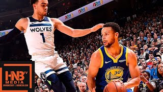 Golden State Warriors vs Minnesota Timberwolves Full Game Highlights | 11.02.2018, NBA Season