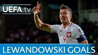 Robert Lewandowski: All his World Cup qualifiers goals for Poland