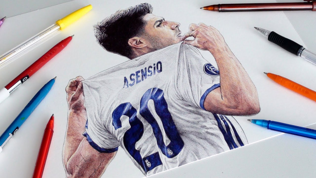 ASENSIO PEN DRAWING YouTube