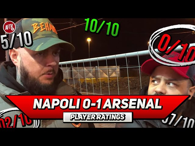 Napoli 0-1 Arsenal | JOB DONE! Player Ratings ft Troopz & DT