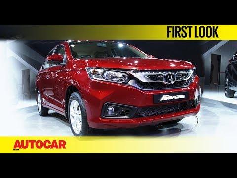 Honda Amaze   Auto Expo 2018   First Look   Autocar India