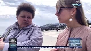 Кореспондент Прямого відвідала окупований Крим та дізналась думку місцевих жителів