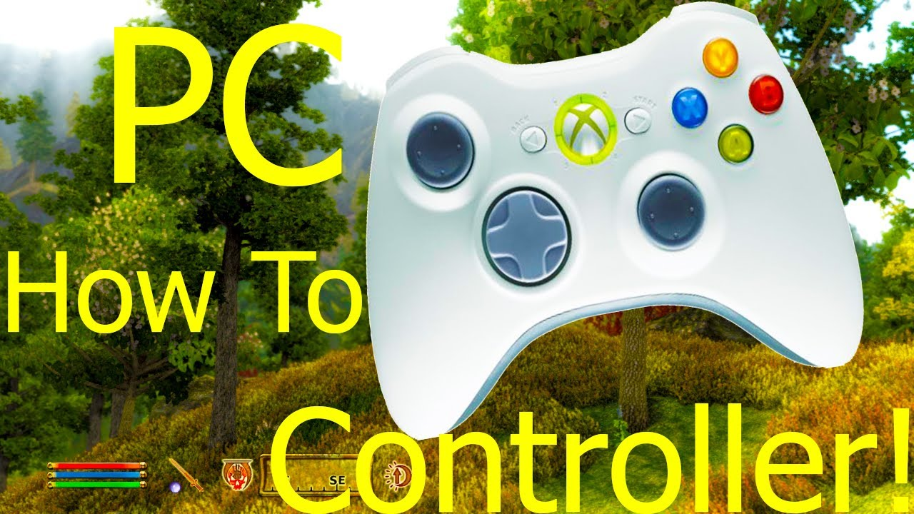 how to add xbox controller to pc