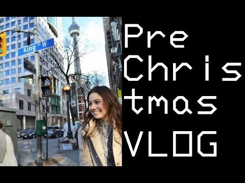 Pre Christmas Vlog: Vegan food + Phantom of the Opera | VLOG