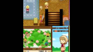 [VG] Harvest Moon: Tale of Two Towns Gameplay - Tending to Animals + Bluebell Villagers Thumbnail