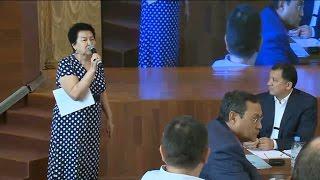 Мама Талгата Аянова на встрече Земельной комиссии 23.07.16 полное выступление