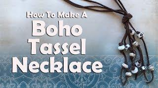 Boho Tassel Necklace: Easy Jewelry Tutorial