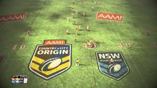 Rugby League Live 2 | 2014 Gameplay | Country vs City