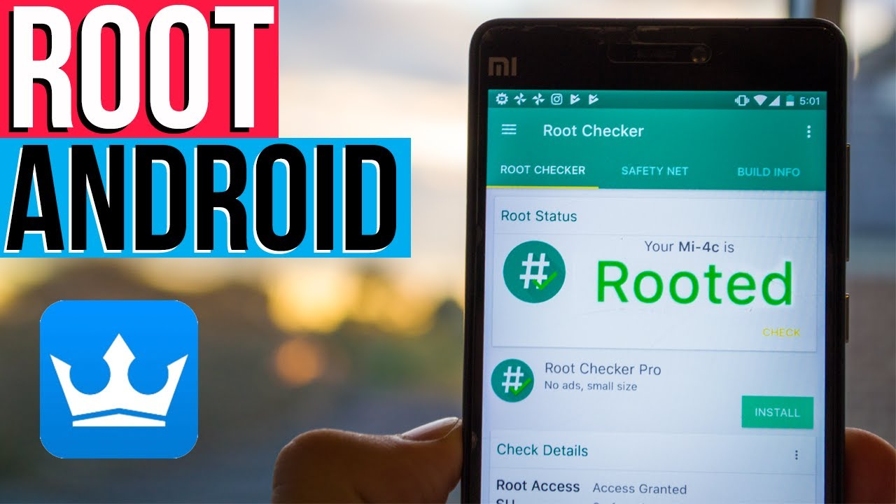 How to ROOT ANY ANDROID PHONE (2019) No Computer | Root Android 9 0  Kingroot | Harrison Broadbent