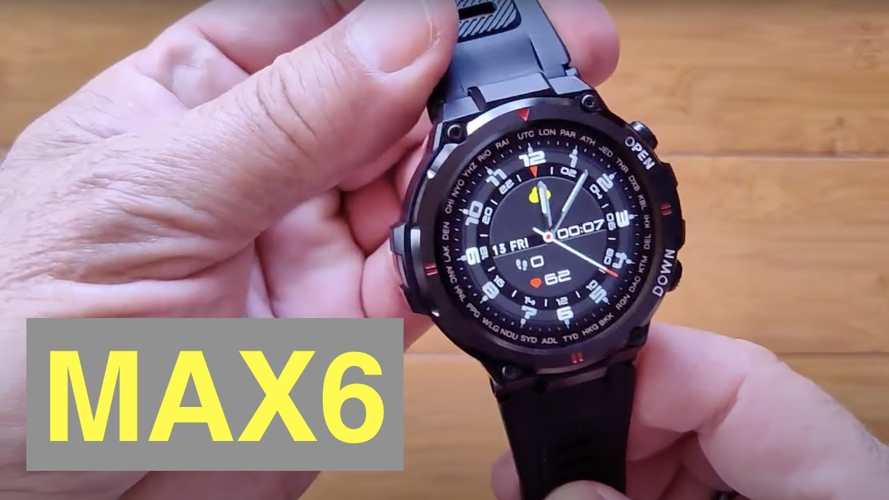 Download SENBONO MAX6 IP67 Waterproof Bluetooth 5 Calling Blood Pressure Sports Smartwatch: Unbox & 1st Look