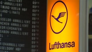 100,000 passengers disrupted by Lufthansa pilots' strike