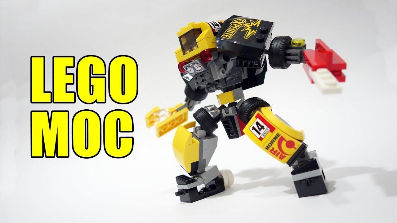 Lego Mech Suit mash up with Lego set 60113 - YouTube