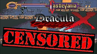 Castlevania Dracula X CENSORED - Gameplay's Blood & Gore (Documentary Purposes)