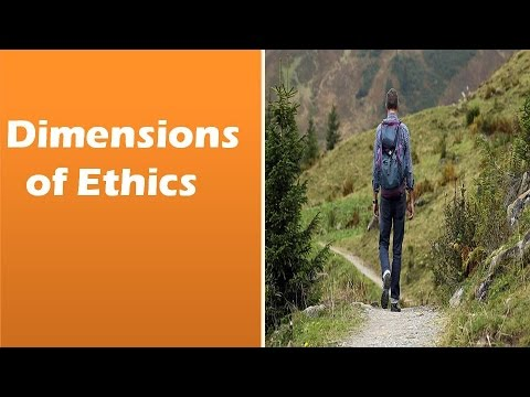 Dimensions of Ethics: Meta Ethics, Normative ethics, Descriptive ethics,  Applied ethics
