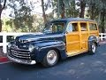 1946 Ford Woody Wagon Stunning Resto Mod Loaded Walk Around