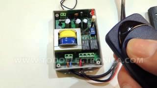 Receptor universal 433 motor puerta garaje