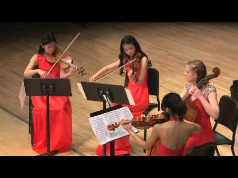 "Season 2015-16 JCM-OC Final Concert: Dvořák String Quartet No. 12 in F Major, Op. 96 ""American"""