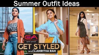 JFW Summer Outfit Ideas |Summer Fashion| Get Styled with Amritha Ram | Summer Lookbook