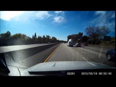 I-5 South Sacramento Rollover Accident