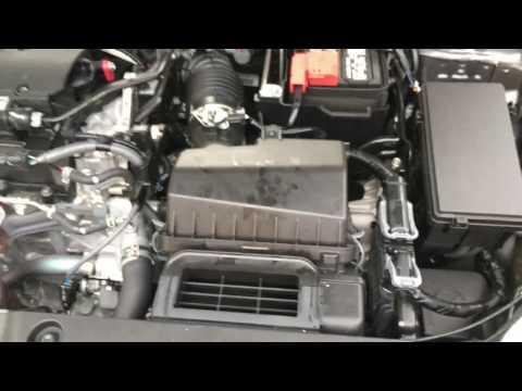 2016-2017 Honda Civic Engine Air Filter Replace DIY