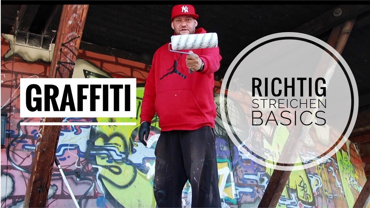 graffiti coach streichen wie man richtig streicht basics youtube. Black Bedroom Furniture Sets. Home Design Ideas
