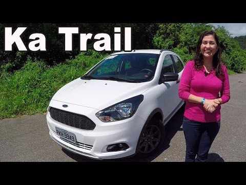 Ford Ka Trail  Em Detalhes