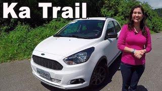 Ford ka trail 2018 1.0 em detalhes