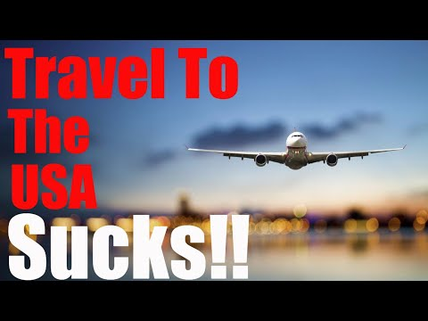 Traveling To The USA Sucks! New Enhanced Security = TSA On PCP
