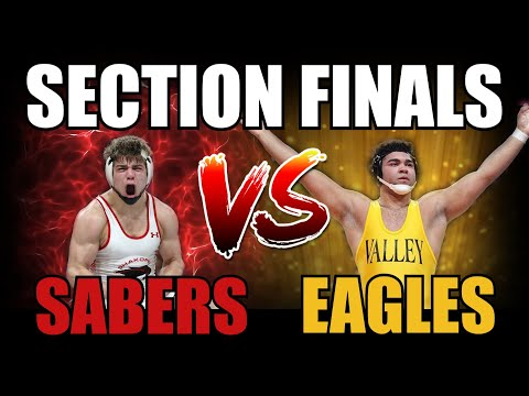 MN WRESTLING SECTION 2AAA FINALS (Shakopee vs. Apple Valley)