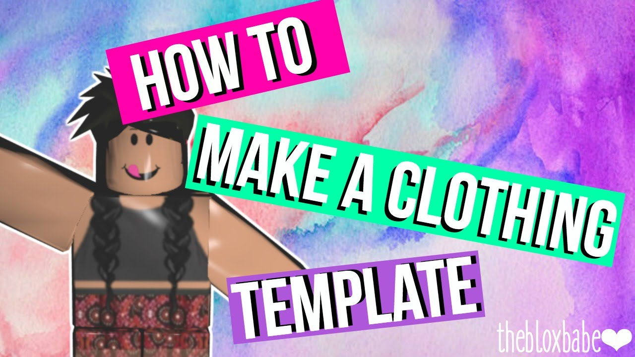 how to make a shirt template on roblox
