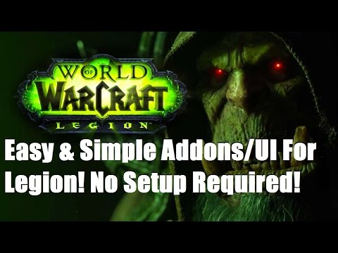Easy and Simple Addons & UI For Legion - No Setup Required!