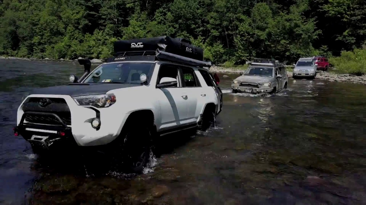 Allegheny and Shenandoah Overland Trail, Dry Fork river crossing