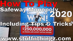 2020 Safeway Monopoly - How To Play + Tips & Tricks Runs From 2/5 to 5/5/2020