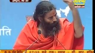 Guidance to Indian youth to Make India A Developed Country by Swami Ramdev,Yuva Bharat ,Indore