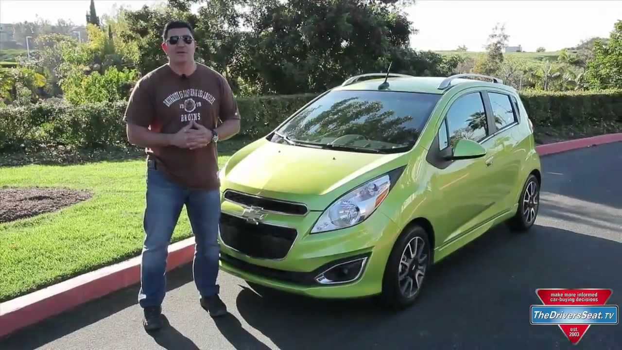 2013 Chevy Spark Review Youtube