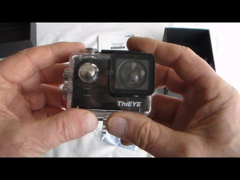 ThiEYE T5e (T5) Genuine 4K Action Camera - Unboxing , Using with LOADS of test Clips