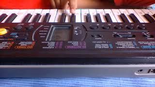 DDLJ GUITAR TONE ON PIANO|piano|ddlj|guitar|allcreativeshow