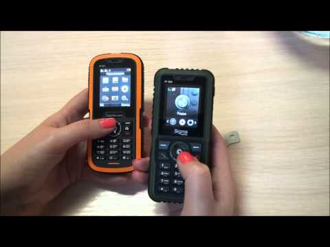 Обзор телефонов Sigma Mobile X-treme IP67 и IP68 - gagadget