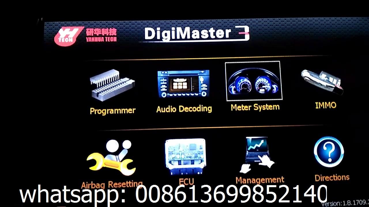 Digimaster3 Digimaster III Original Odometer Correction Master Update Online