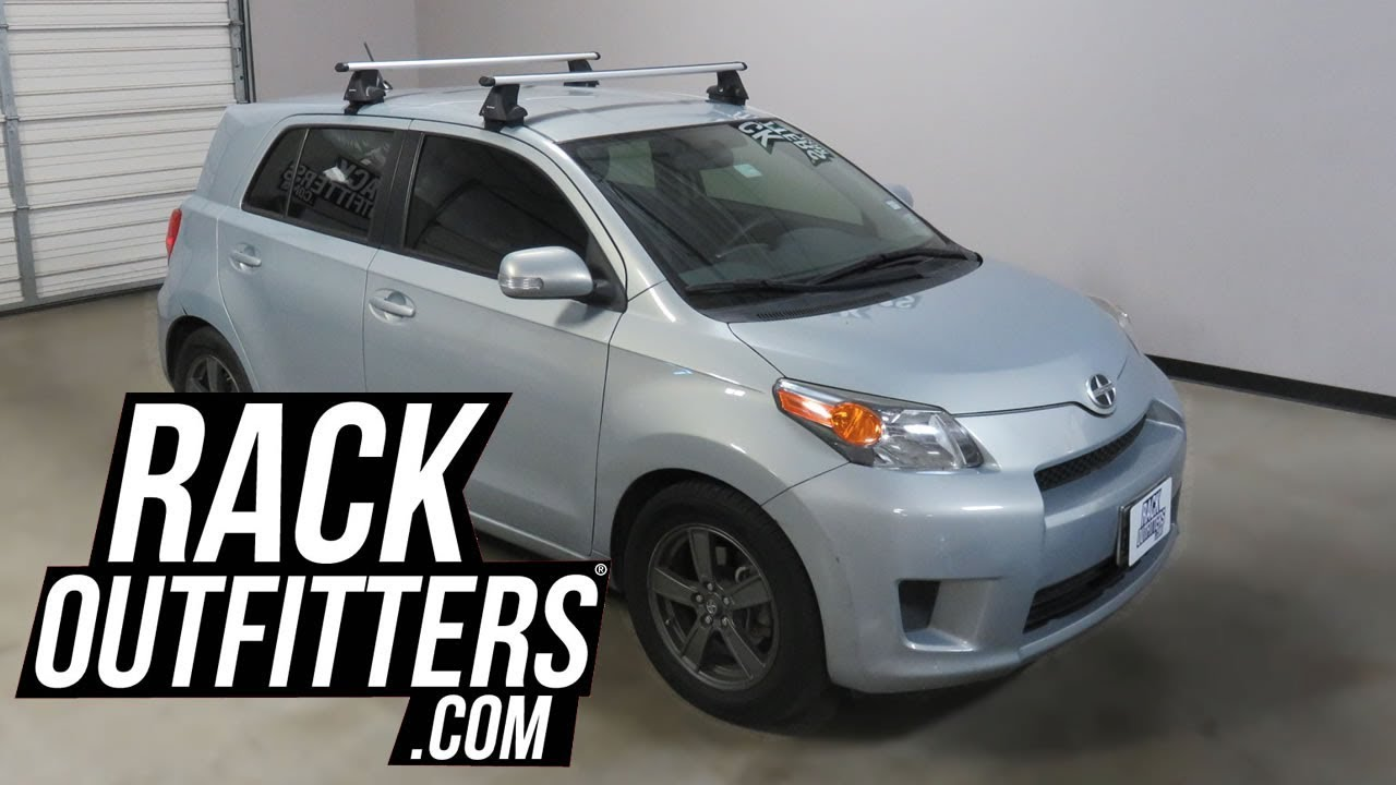 2008 To 2014 Scion Xd With Sportrack Latitude Clamp On