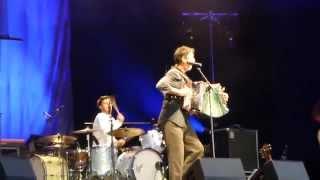 Hubert von Goisern live  - 10 songs (audience filmed) - Königsplatz Munich 2015 06 26