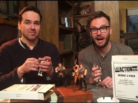 Last Action Hero Unboxing with Austin O'Brien
