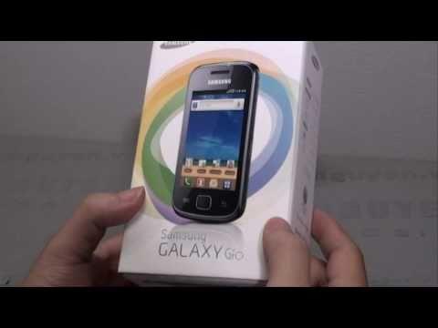 Đập hộp Samsung Galaxy Gio - www.mainguyen.vn