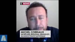 Coronavirus COVID-19 Interview Michel Corriaux régional Alliance police Nationale Grand Est
