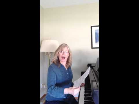 Voice Lessons with Jane sings Edelweiss
