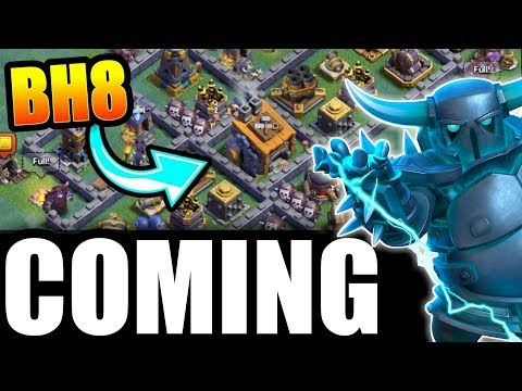 MARCH UPDATE LIVE ''BUILDER HALL -8'' !! CLASH OF CLANS