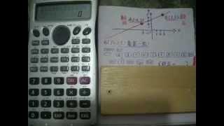 DSE計數機操作技巧3a-兩點的距離、與x軸的夾角及斜率