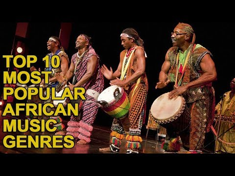 Top 10 Most Popular African Music Genres