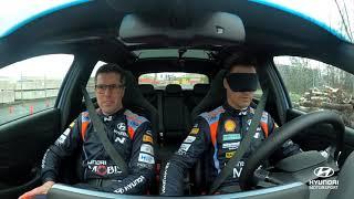 Reto a ciegas de Dani Sordo con Borja Rozada, su nuevo copiloto para el WRC